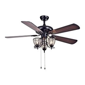 Warehouse Of Tiffany Mirabelle 52 In Black Downrod Mount Ceiling Fan With Light Kit 5 Blade Cfl 8166b Ceiling Fan With Light Ceiling Fan Warehouse Of Tiffany
