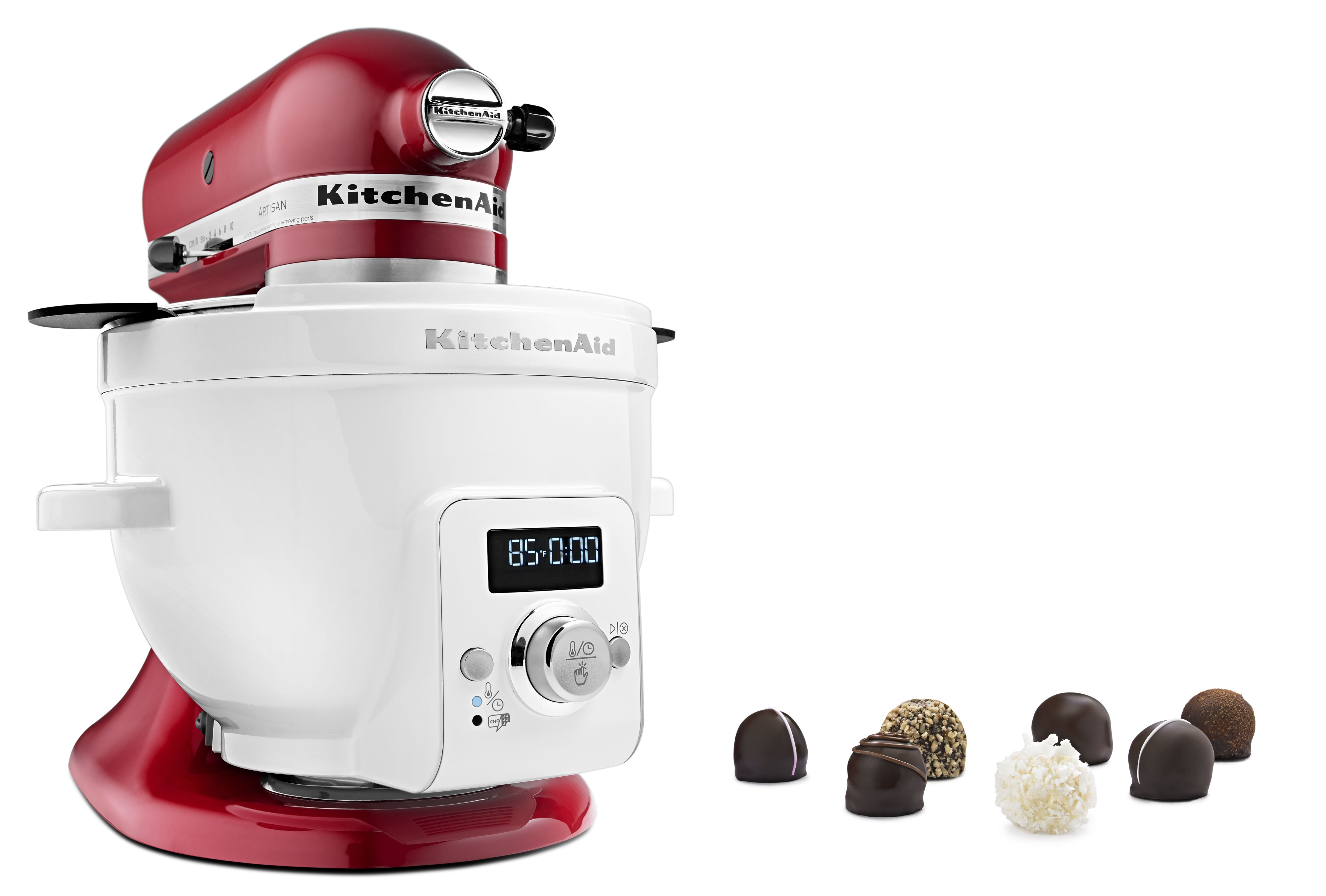 KitchenAid Artisan Küchenmaschine mit kippbarem Motorkopf   Speed ...