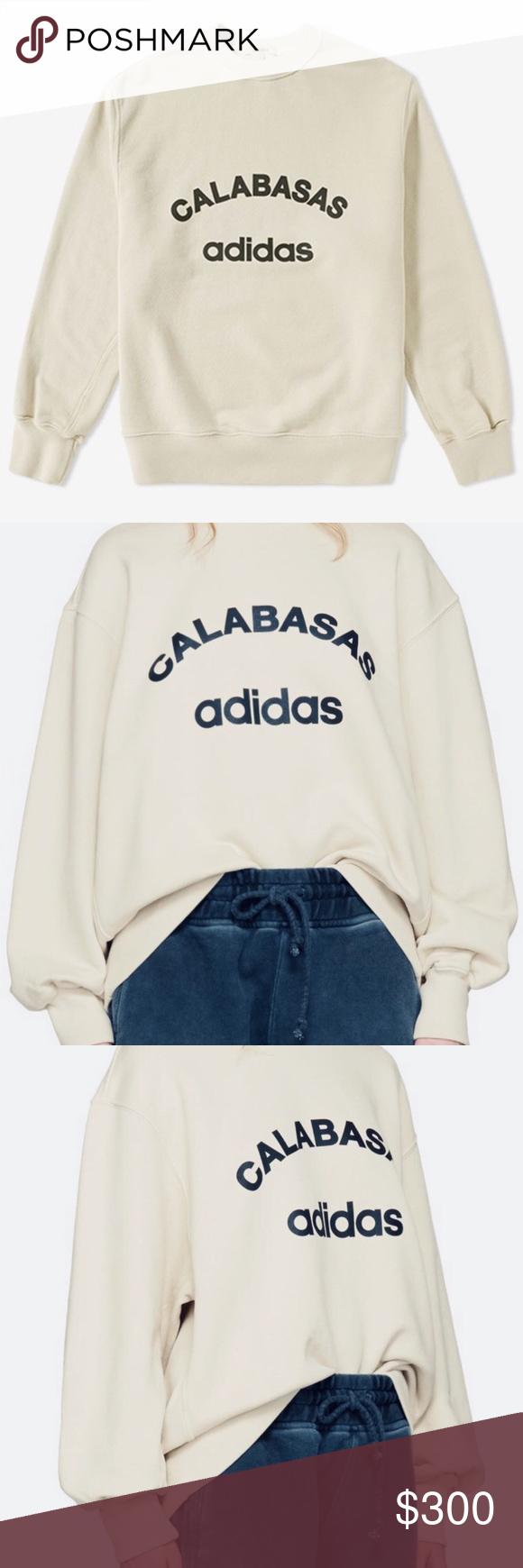 Yeezy Season 5 X Adidas Calabasas Sweatshirt Authentic Yeezy Season 5 Jupiter Calabasas Adidas Crewneck Sweatsh Sweatshirts Yeezy Shirt Sweatshirts Hoodie [ 1740 x 580 Pixel ]