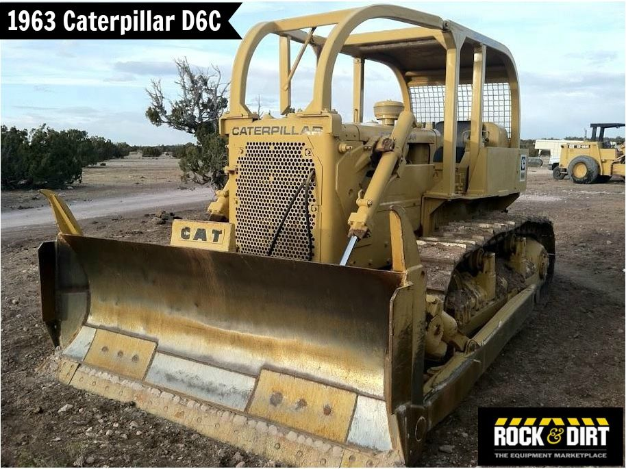 1963 Caterpillar D6C Dozer | Dozers | Crawler tractor, Tractors