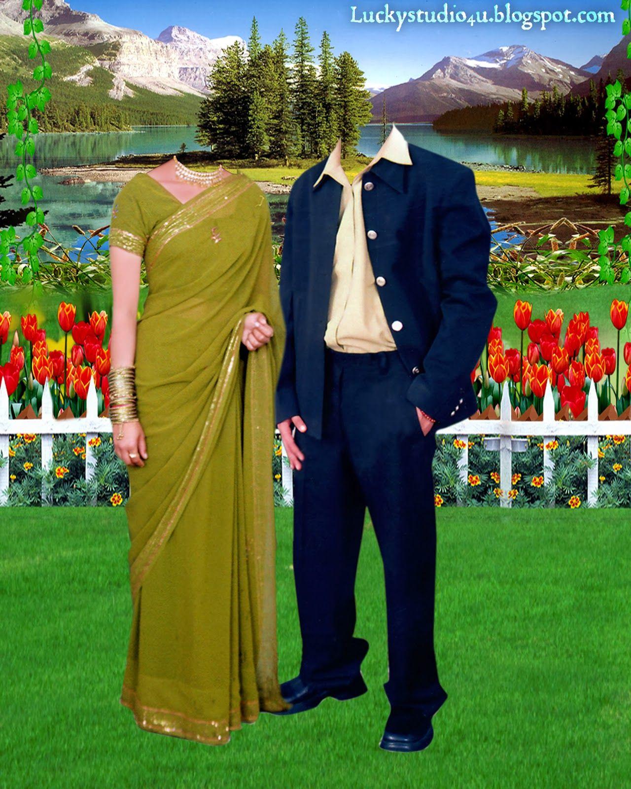 Couple Psd Pose In The Garden