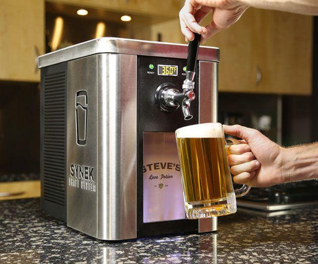 Synek Countertop Draft Beer System Beer Taps Home Brewing Beer Dispenser
