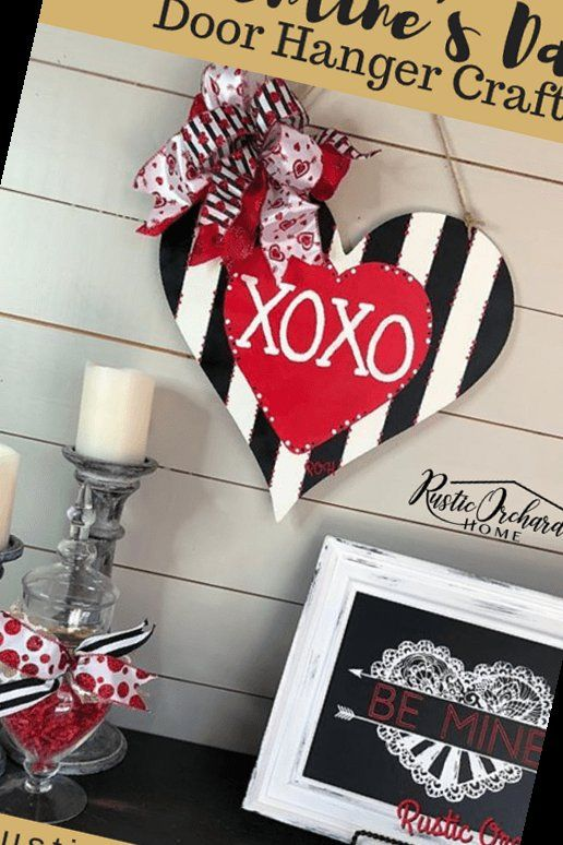 Photo of 40+ Diy Valentine'S Day Door Hanger Craft | Valentine Crafts To Sell | 2020