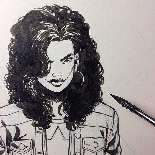 America-Chavez-Ramon-Perez-Art-Of-The-Week.jpg (500×500)