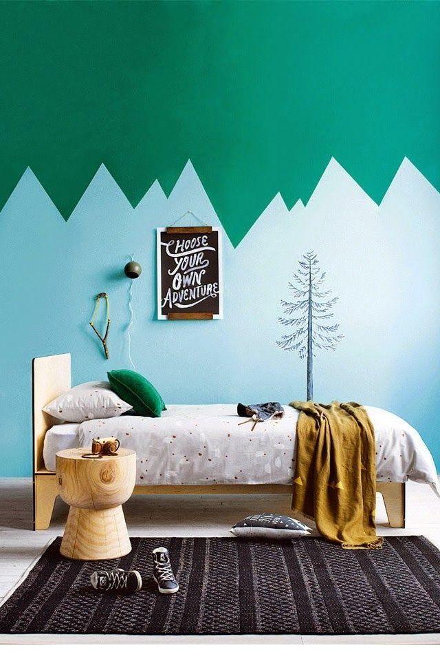 20 façons design de twister un mur avec de la peinture Paint ideas