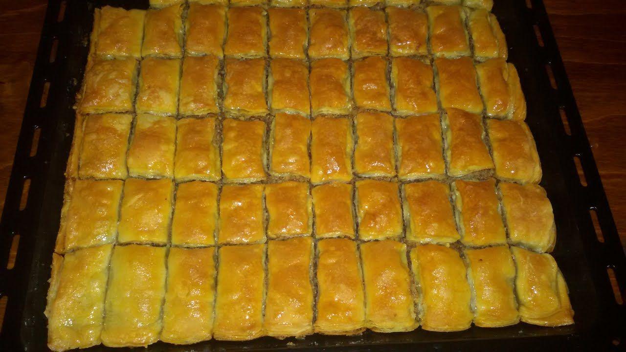 Paxlava Resepti Turk Paxlavasi Sosisli Sandvic Yemek Tarifleri Yemek