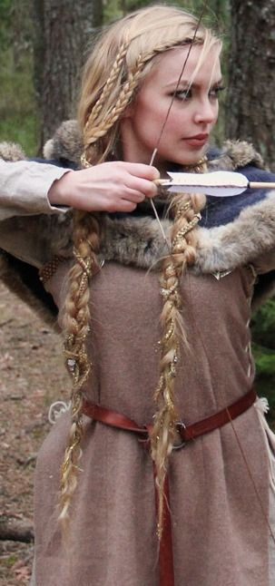Viking drinking horn vessels and accessories viking braids viking braids beautiful hairstyle of the viking queen need to learn how to do ccuart Images
