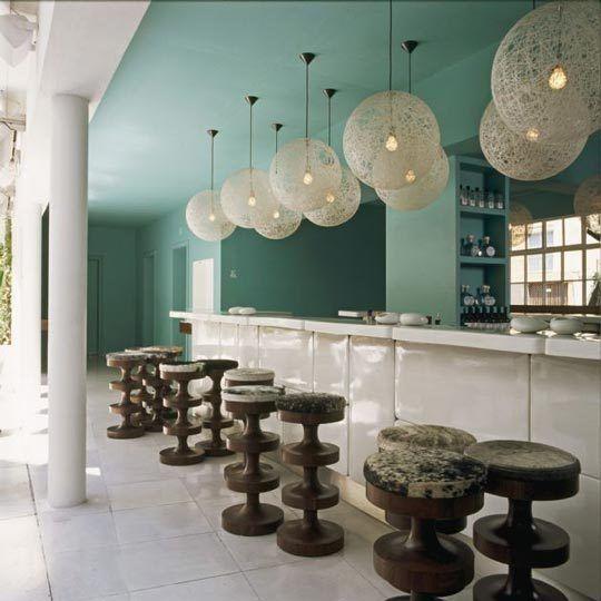 Condesa DF Hotel Interiors by India Mahdavi   Hotel interiors. Hotel interior design. Best interior design