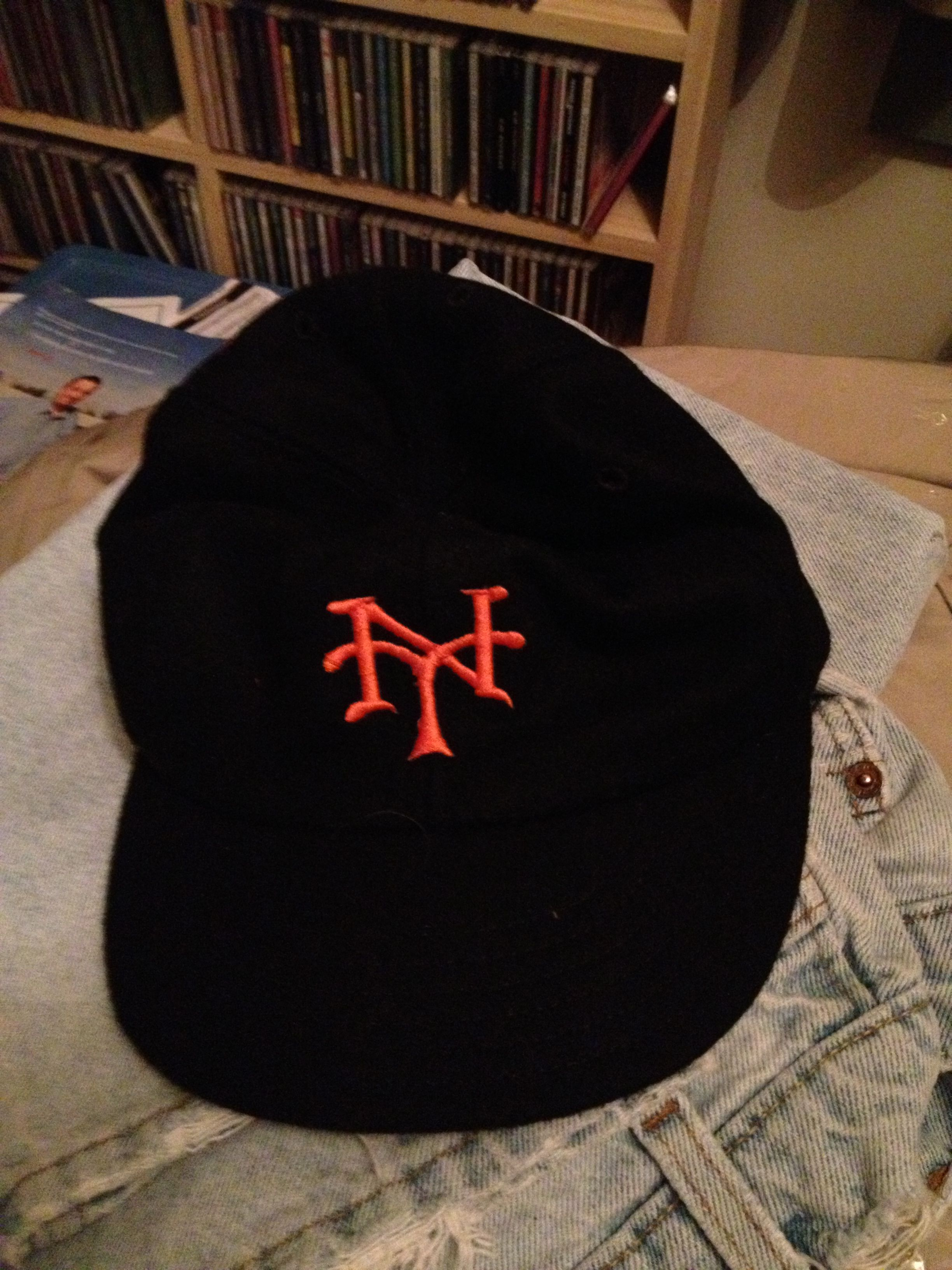 d34ad4039a4 1933 New York Giants baseball cap made for me by Cooperstown Ball ...