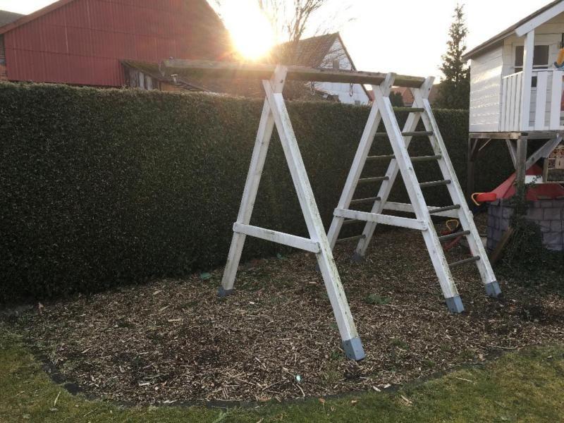 Klettergerüst Holz Selber Bauen : Wir lösen unseren kinderspielplatz auf das klettergerüst ist aus