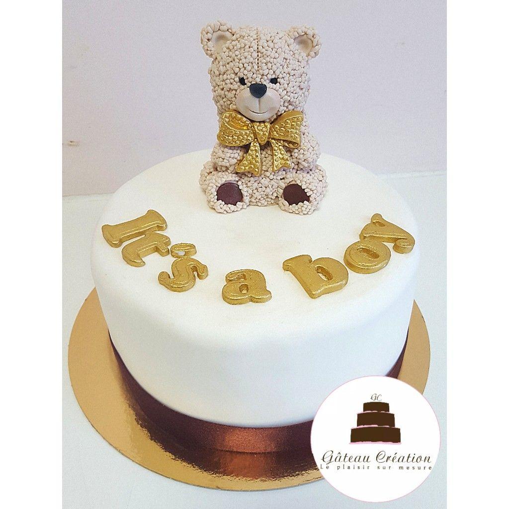 Gâteau Danniversaire Ourson En Sucre Optez Pour Une Pâtisserie 100