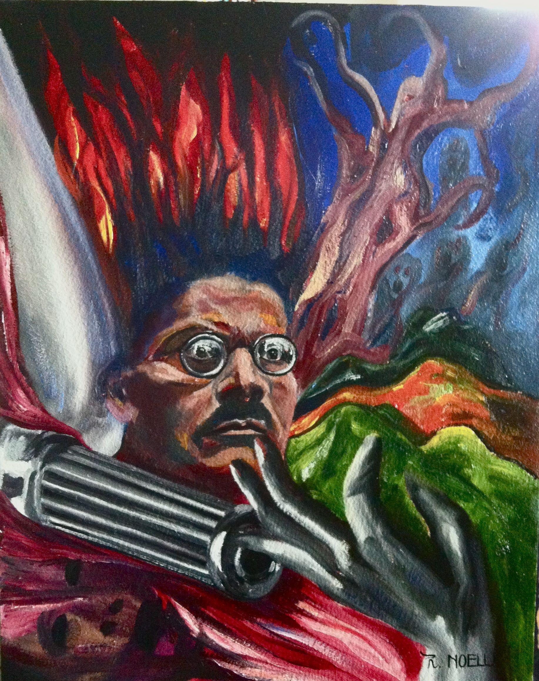 A portrait of Jose Cle...