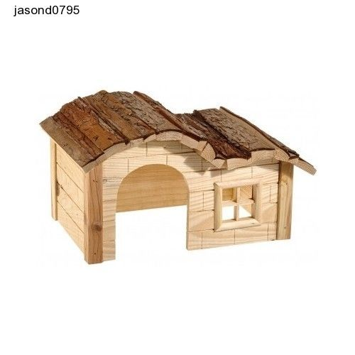 Hamster House Home Hut Guinea Pig Dwarf Rabbit Den Hut Play Pen Outside Garden
