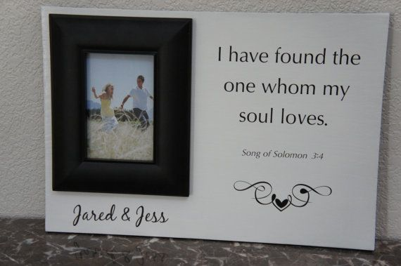 Personalize Wedding picture frame or anniversary (I have found the ...