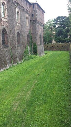 Castello de los Sforza. Milán