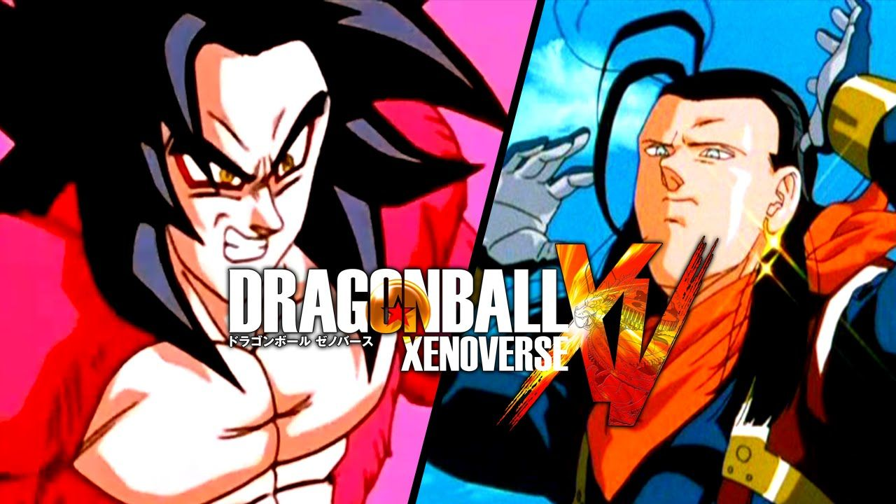 Dragon ball xenoverse super saiyan 4 goku vs super 17 - Dragon ball xenoverse ss4 vegeta ...