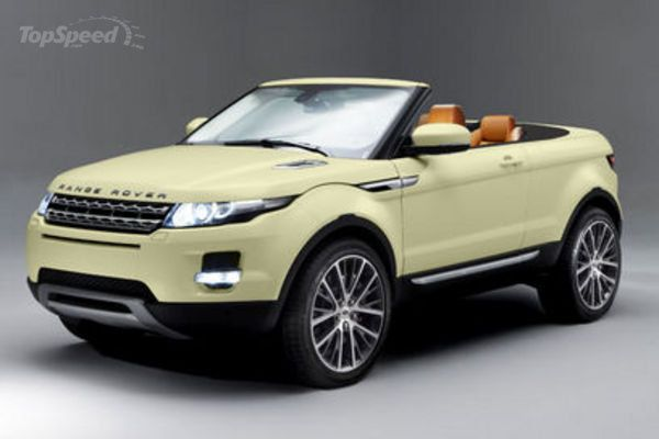 Land Rover Evoque Cabrio In The Works Top Speed Range Rover Evoque Land Rover Range Rover Convertible