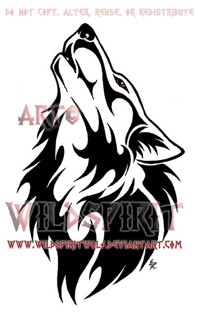 Ambereye Wolf Tattoo Commission Tribal Wolf Tattoo Tribal Wolf Wolf Tattoos