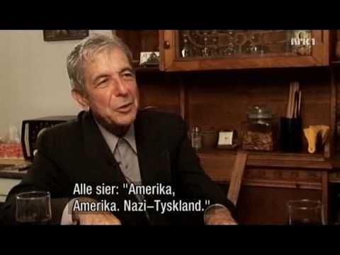 Leonard Cohen - Montreal interview, part 3 of 3 (NRK, 2006) ( This interview is done in bizarre + playful accents.)