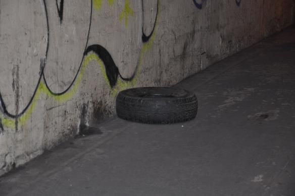 Tire in the Tunnel