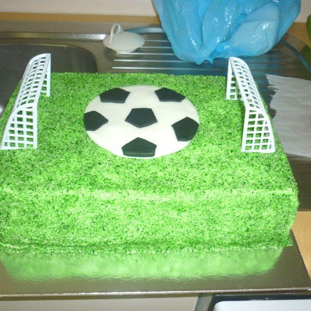 Pleasing Soccer Field Birthday Cake Recipes Soccer Ball Cake Birthday Funny Birthday Cards Online Aboleapandamsfinfo