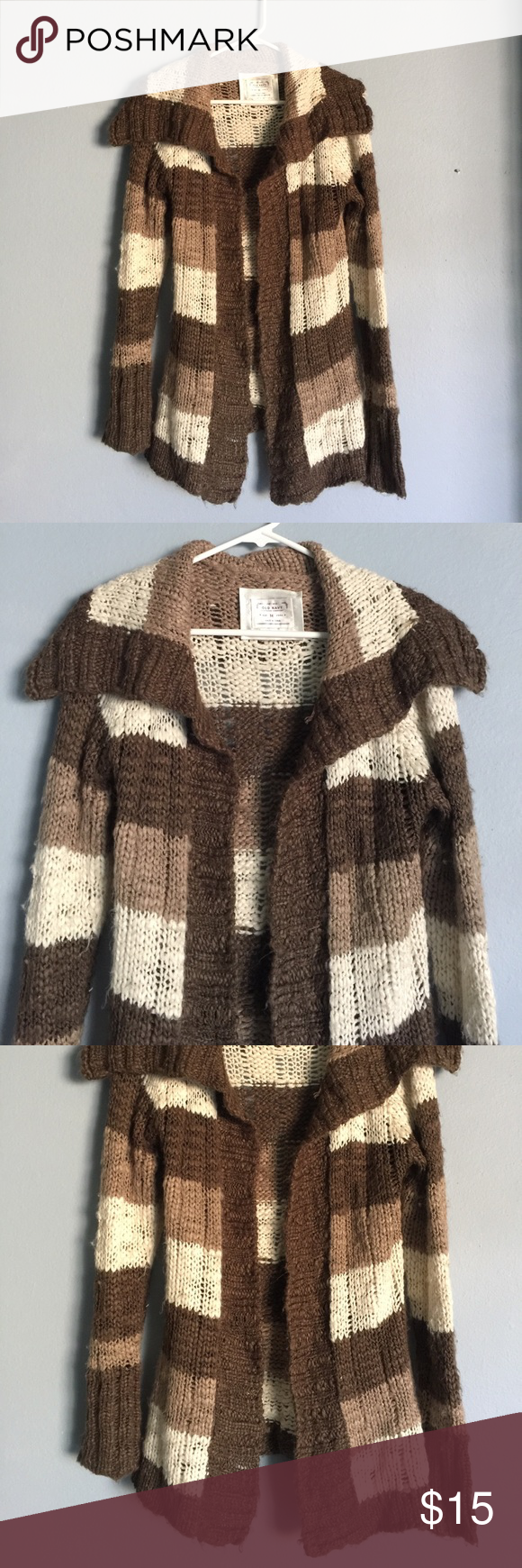 Super Cute Brown Fall Acrylic Sweater | Smoke free, Navy sweaters ...