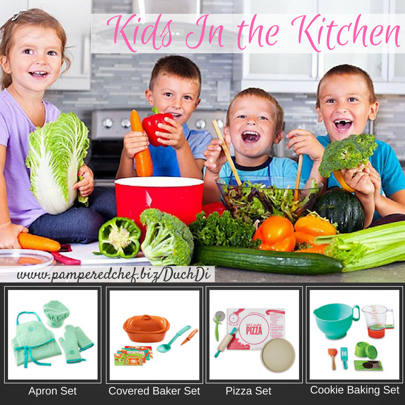 kids in the kitchen pampered chef style! | pampered chef