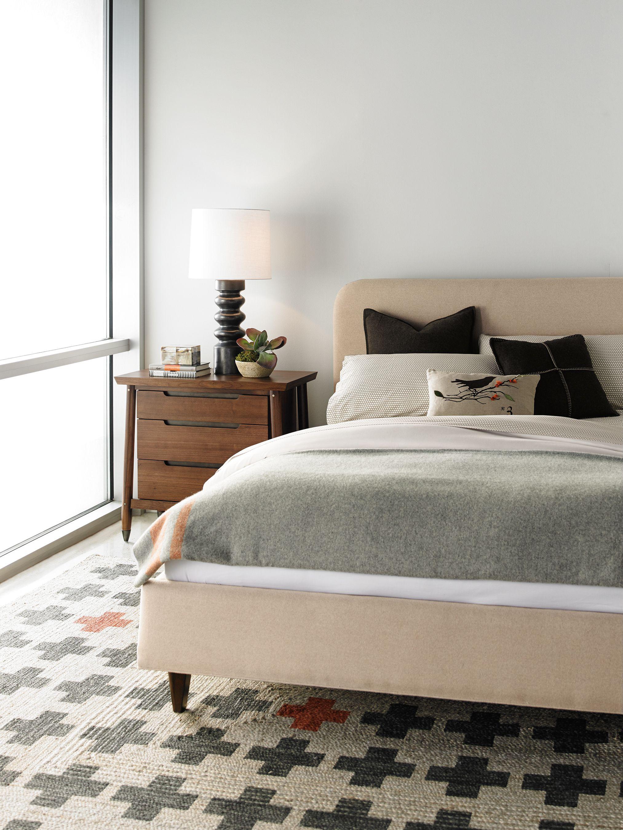 Cozy Winter Bedroom Bungalow Bed ScandinavianStyle