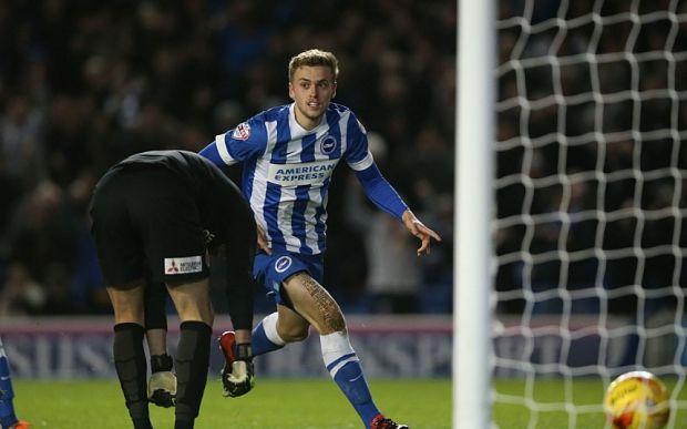 James Wilson scores on his debut for Brighton