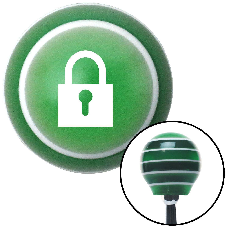 White lock symbol green stripe shift knob with m16 x 15 insert to white lock symbol green stripe shift knob with m16 x 15 insert biocorpaavc Image collections