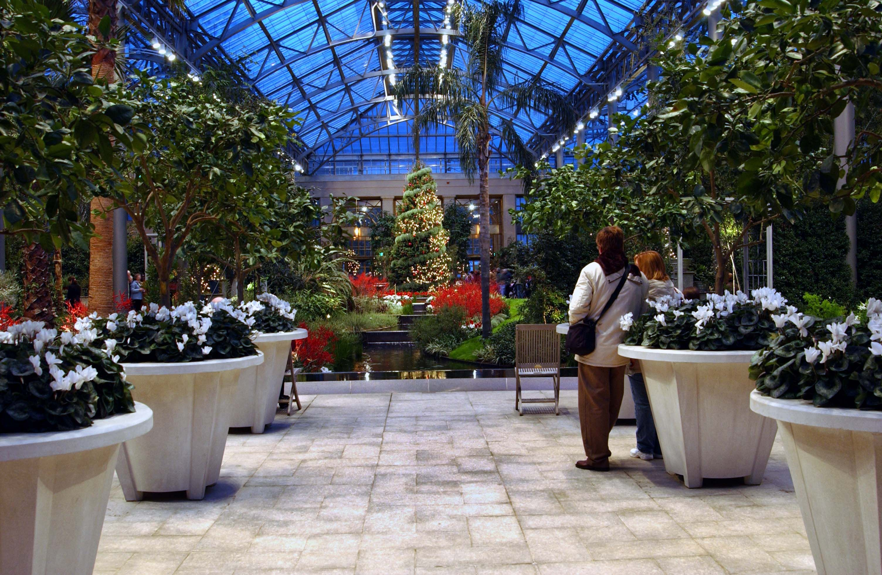 The East Conservatory At Longwood Gardens