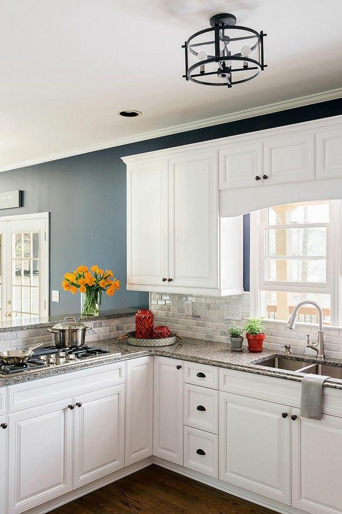 küchengestaltung weiße küche mit holzboden | Küche Möbel - Küchen ... | {Küchengestaltung 6}