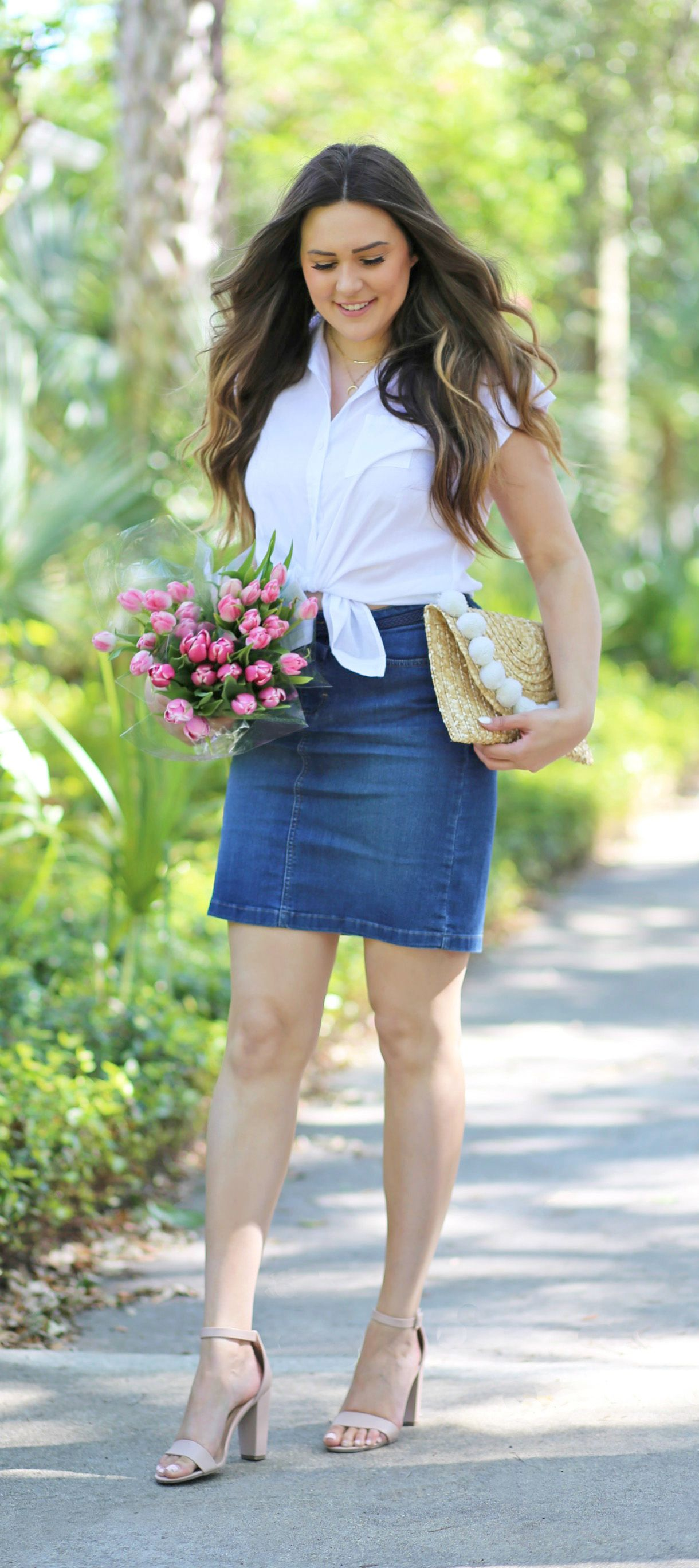 29a09c7e7 Need to re-create this look! // Orlando fashion blogger Michelle Kehoe from