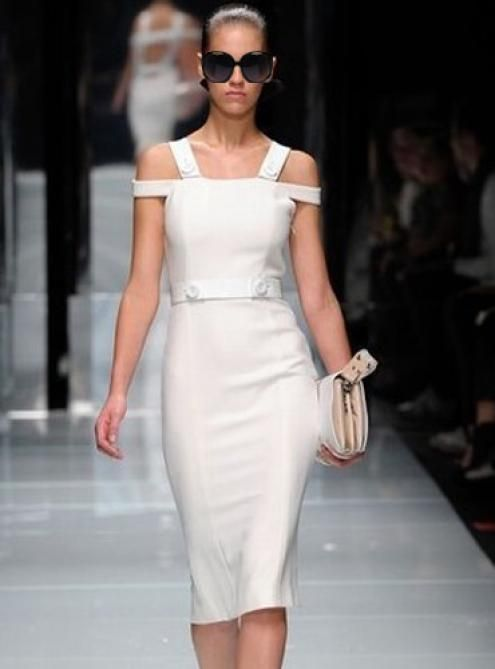 2014 New Dew Shoulder Slim Dress ($72, original price is $86.4) http://www.udobuy.com/goods.php?id=12316#.UtDWZtLEeeo