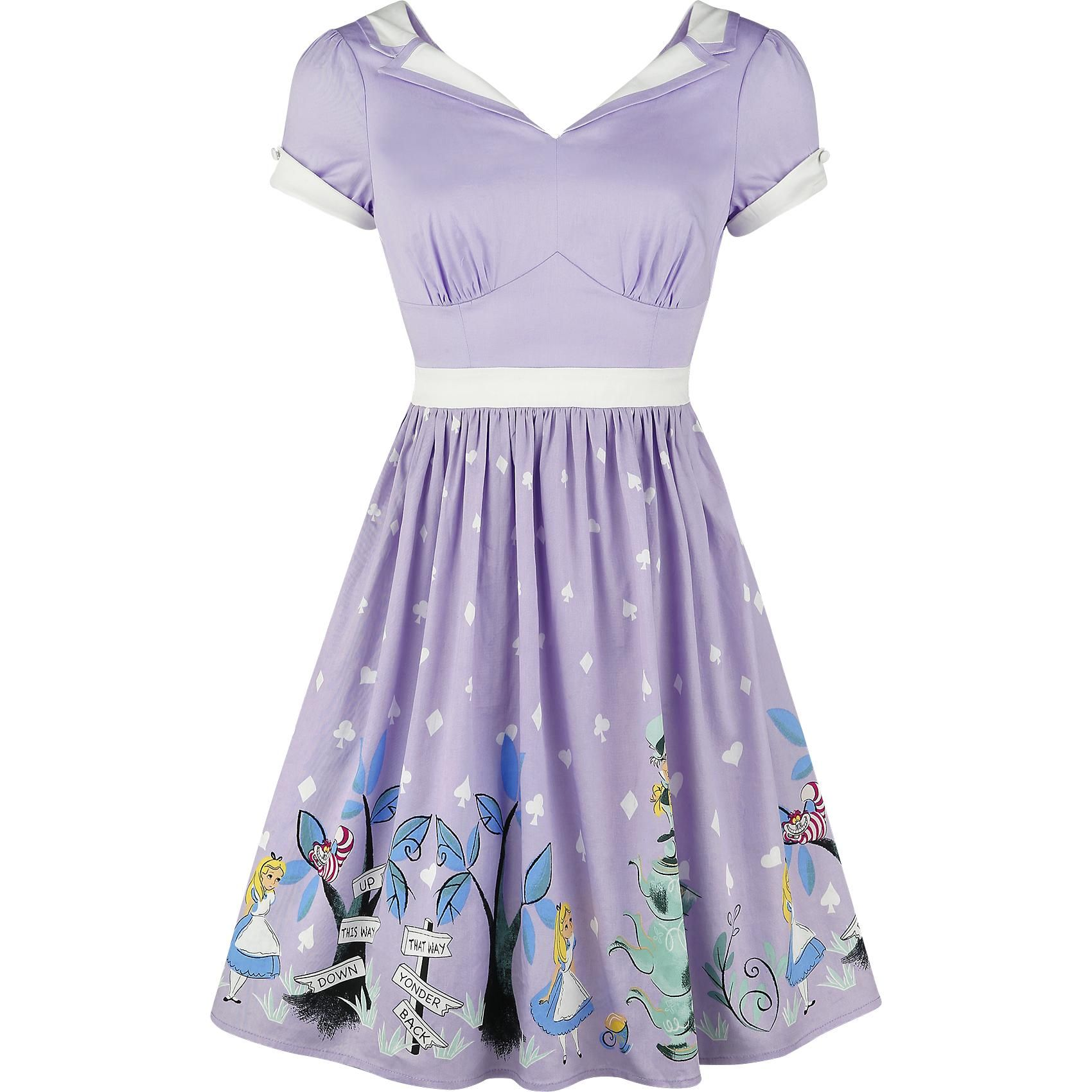 5377e5140beee2 We re All Mad Here - Short dress by Alice In Wonderland