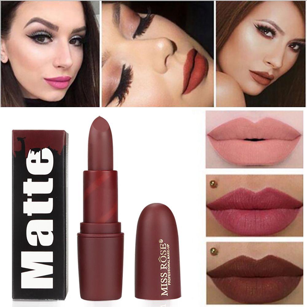 Aliexpress.com : Buy Miss Rose Matte Lipstick Long Lasting