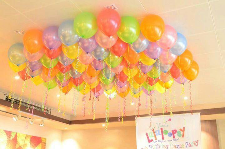 Avienda's Lalaloopsy Dance Party ballooon decors