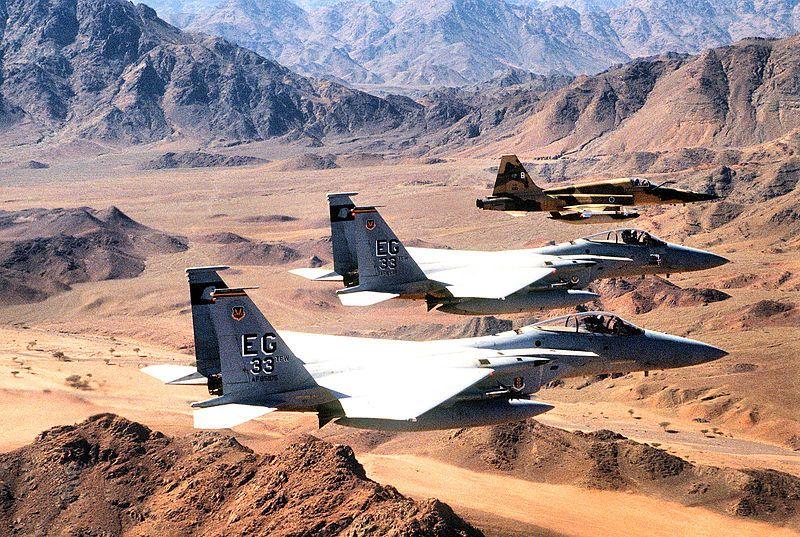 33d Tactical Fighter Wing F15s Desert Storm Cesar