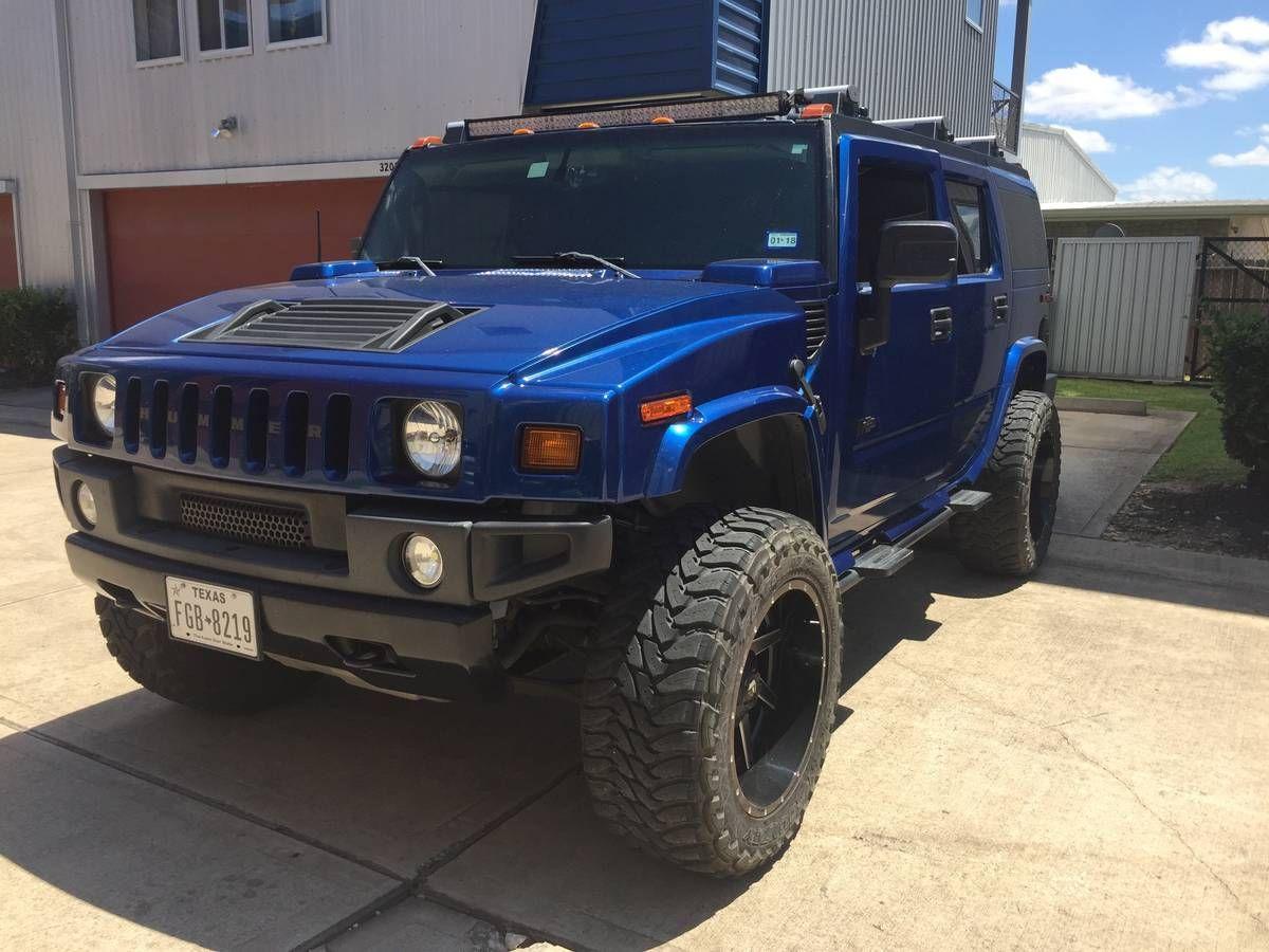 Blue Hummer H9 | Hummer h9, Hummer, Seat cleaner | hummer h2 snorkel kit