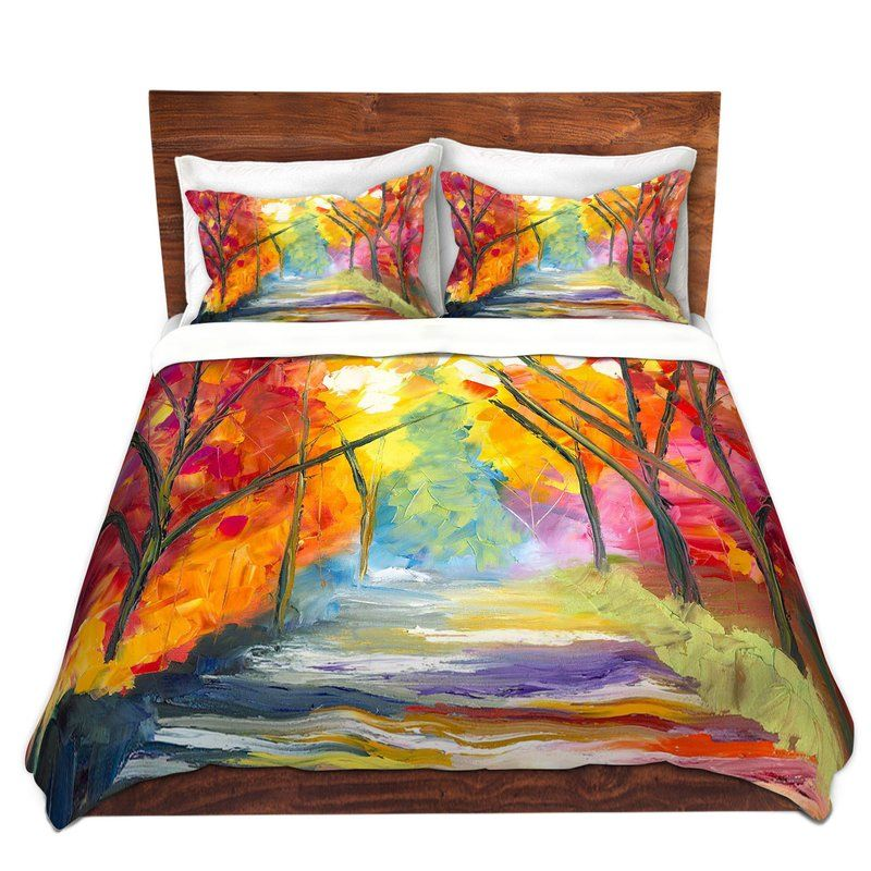 The Road Less Traveled Duvet Cover Set Duvet Cover Sets Duvet Covers Duvet