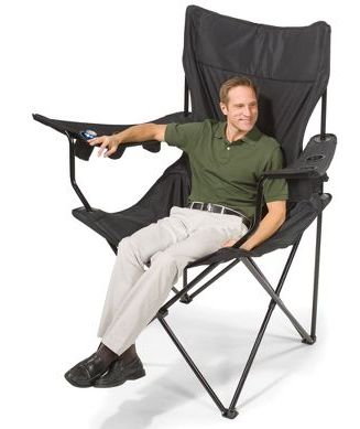 Want Supersize Camping Chair Craziest Gadgets Camping Chairs Camping Chair Folding Chair