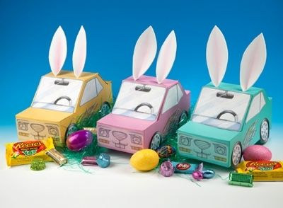 view this fun and easy easter inspired road rally egg hunt craft
