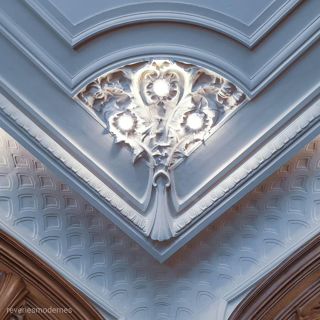 Detail Du Plafond De La Salle Lyautey De La Chambre De Commerce Et D Industrie De Nancy Une Salle Entierement Ded Chambre De Commerce Nancy Tourisme En France