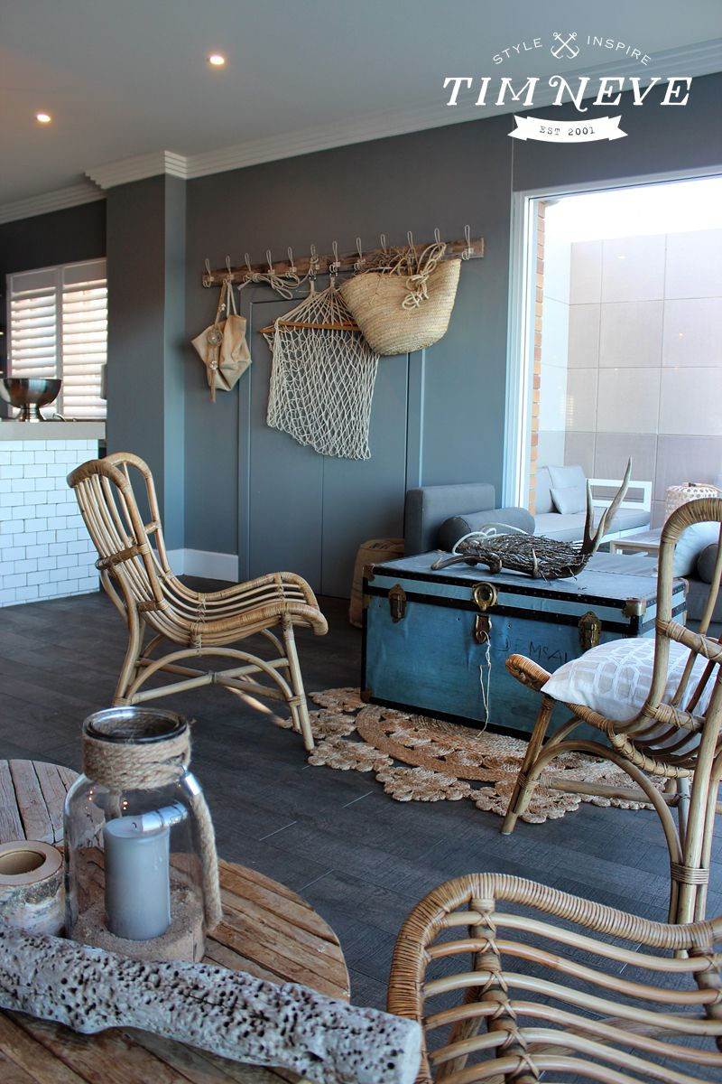 Nautical inspired interior design by stylist Tim Neve for ...