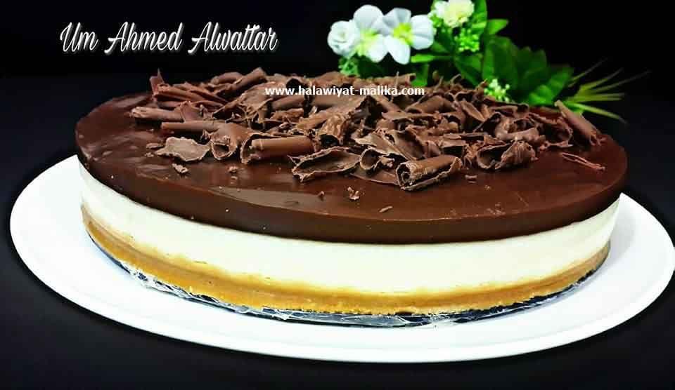 تشيز كيك الشوكولا بدون جيلاتين ولا أسهل Food Mini Cheesecake Cheesecake