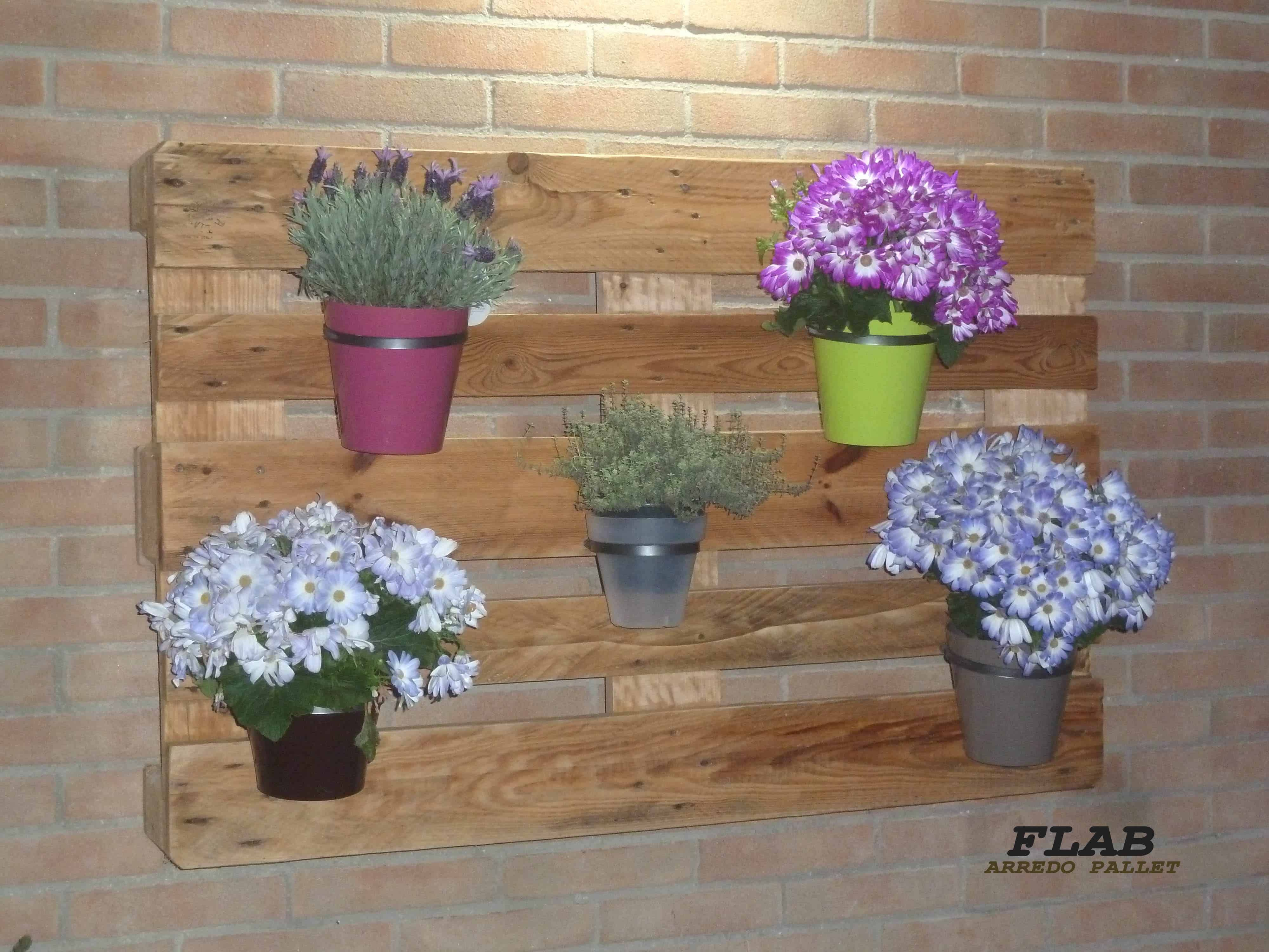 Simply Cute Pallet Hanging Planter / Fioriera Da Appeso