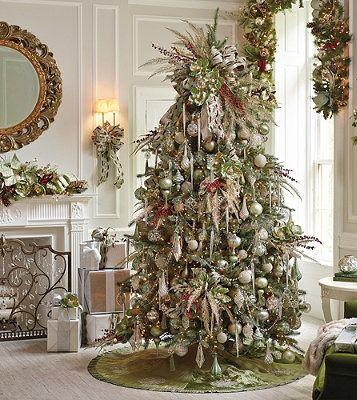 Set Of Six Glitter Icicles Frontgate Beautiful Christmas Trees Christmas Decorations Beautiful Christmas