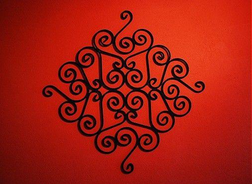 kovovedekoracie / Ornamentálna dekorácia na stenu - Al Andalus