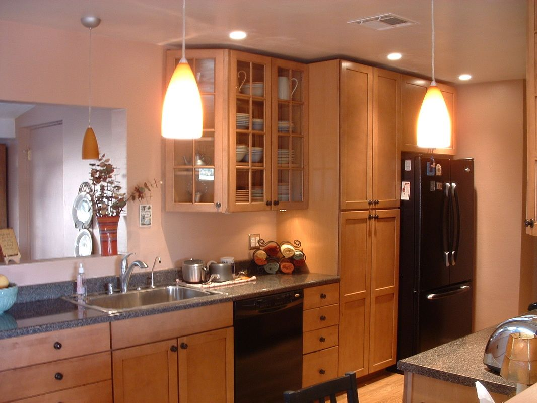 Superior Kitchen Remodel Design Ideas Part - 14: Amazing Galley Kitchen Design Pendant Lighting Home Improvement Wall  Placement Layout In Plans Modern For Small Videos Equipment Spotlights  Yellow Elegant ...