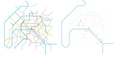 Nyc Subway Map Disabled Access.Access Denied Wheelchair Metro Maps Versus Everyone Else S